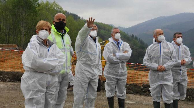 El Gobierno vasco finaliza sin éxito la búsqueda del operario aún desparecido en Zaldibar