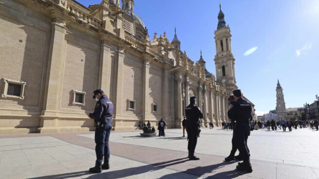 La Basílica del Pilar en Zaragoza.