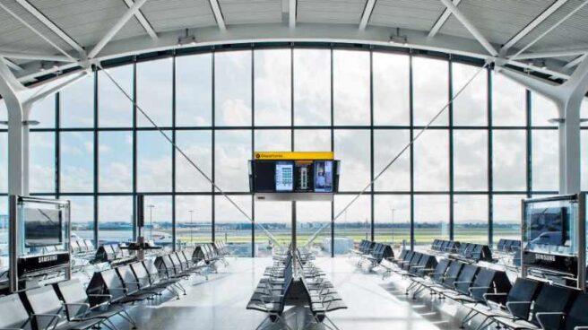 Imagen de un aeropuerto gestionado por Ferrovial.