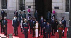 Madrid rinde homenaje a héroes del 2 de Mayo en la Puerta del Sol con todos los candidatos del 4M salvo Iglesias
