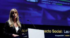 Begoña Gómez, directora de la Cátedra de Transformación Social Competitiva por la Universidad Complutense.