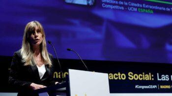 El PP denuncia el apoyo de la esposa de Sánchez a la nueva patronal