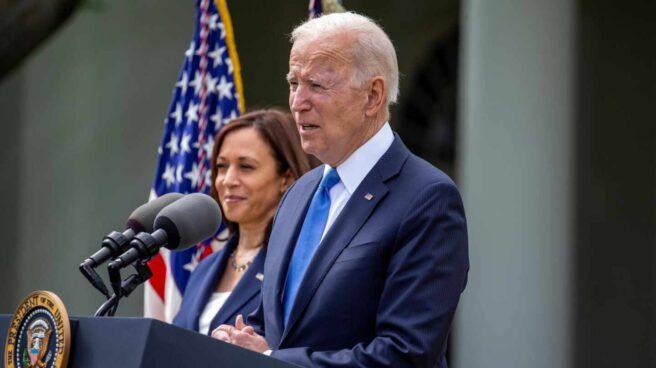 Joe Biden y Kamala Harris, en la Casa Blanca.