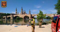 Los bomberos buscan a un menor desaparecido en el río Ebro en Zaragoza