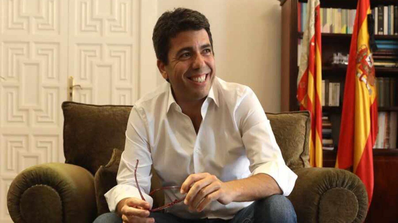 El candidato a presidir el PPCV, Carlos Mazón