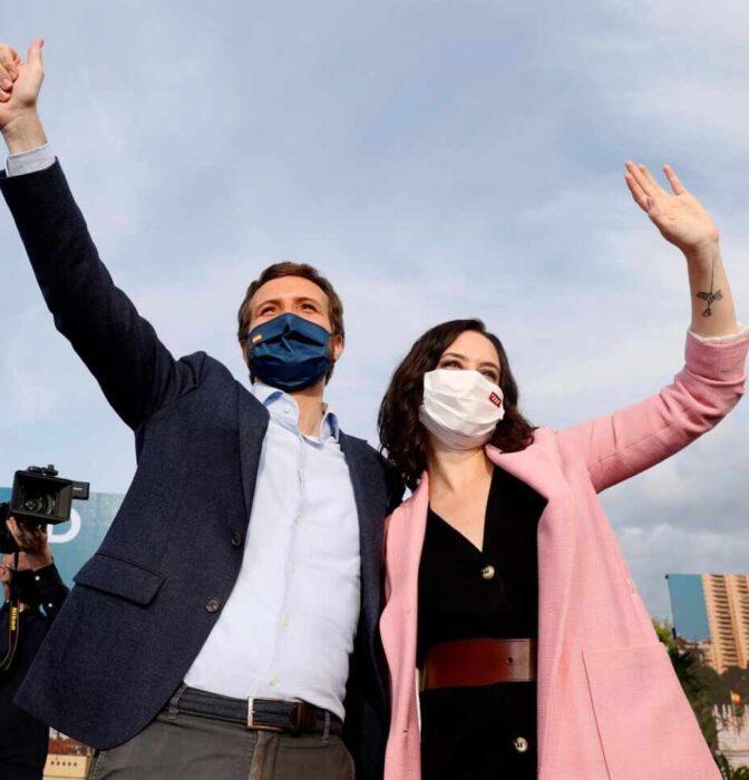 """Ayuso y Casado apuntan al """"principio del fin"""" de Pedro Sánchez tras el 4-M"""