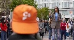 La líder de Ciudadanos, Inés Arrimadas, durante un acto en Madrid.