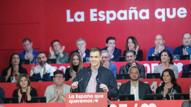 El presidente del Gobierno, Pedro Sánchez, interviene en el Comité Federal del PSOE de 2020 en Ferraz