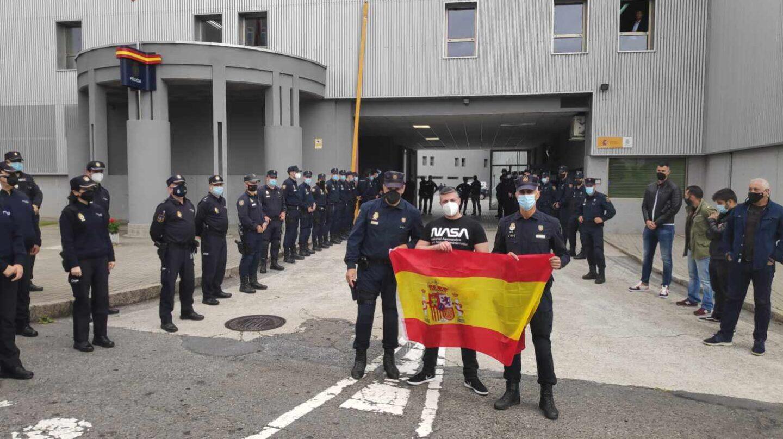 """El triste adiós del policía 'caído' en Urquinaona: jubilado a los 45 años por """"enfermedad común"""""""