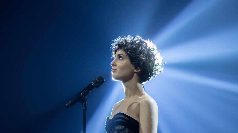 Barbara Pravi, la representante francesa, en los ensayos de la 65ª. edición de Eurovisión.