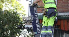 La Justicia obliga al Ayuntamiento de Madrid a mantener la calle General Millán Astray