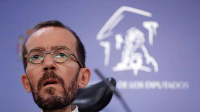 El portavoz de Podemos en el Congreso, Pablo Echenique.