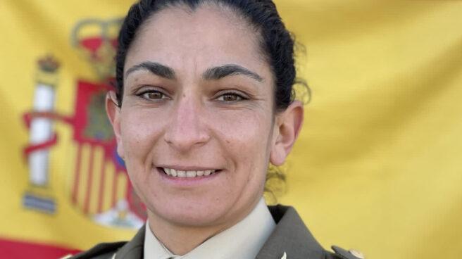 sargento de Artillería Débora Grau Serra