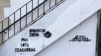 Llevan a Ernai ante la Fiscalía por un posible delito de odio contra la Ertzaintza