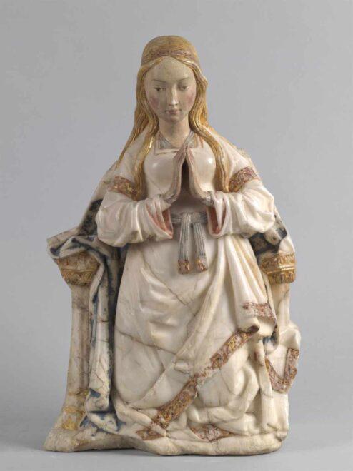 'Virgen orante entronizada'
