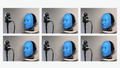 Eva, la robot que ha aprendido sola a imitar las caras de los humanos