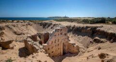 Termas romanas de cuatro metros bajo las dunas de Trafalgar