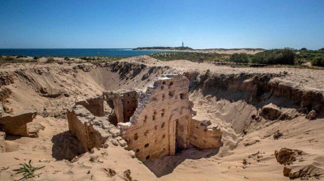 Terma romana descubierta en el cabo de Trafalgar (Cádiz).