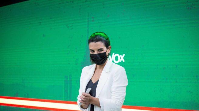 La portavoz de Vox en la Asamblea de Madrid, Rocío Monasterio.