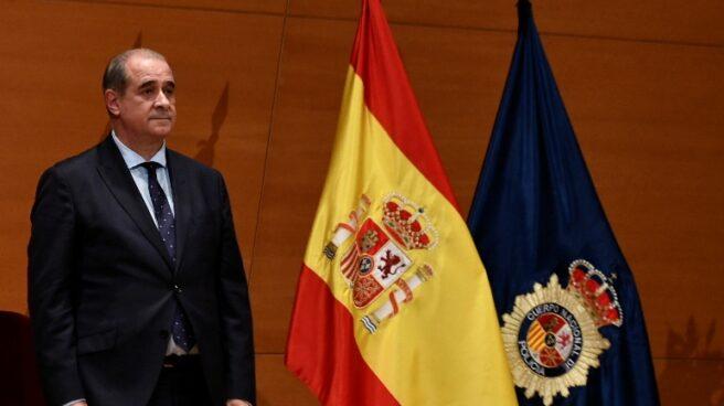 El director general de la Policía, Francisco Pardo Piqueras, en un acto oficial del Cuerpo.