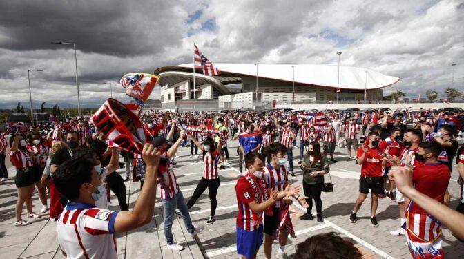 El Frente Atlético convoca una concentración de aficionados en Valladolid antes del duelo en Zorrilla