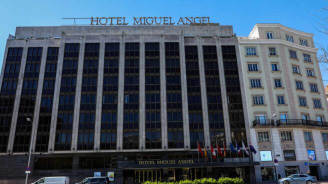Fachada del Hotel Miguel Ángel, Madrid