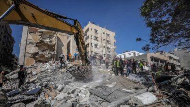 Israel destruye parte de la infraestructura central de Hamás en otro bombardeo en Gaza