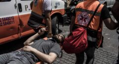 Más de 700 palestinos heridos en los ataques y enfrentamientos con las fuerzas israelíes