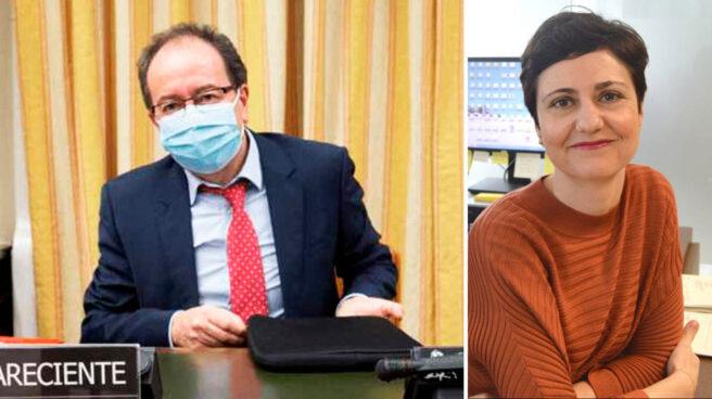 El presidente del CTBG, José Luis Rodríguez, y la ex subdirectora Esperanza Zambrano.