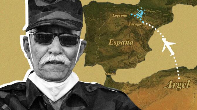 """Así entró el líder del Frente Polisario en España: """"Sin duda, Mohamed Benbatouche es Brahim Ghali"""""""