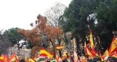 Señal en directo: siga la manifestación de Colón contra los indultos