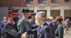 Marlaska y Trapero coinciden en la presentación del nuevo jefe de la Guardia Civil en Cataluña
