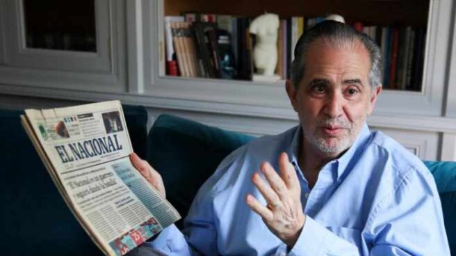 Miguel Henrique Otero, presidente editor de 'El Nacional' de Venezuela