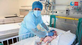 12 horas para salvar a Naiara, primer bebé que recibe un corazón en parada