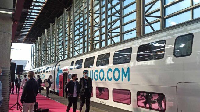 Un tren de Ouigo (SNCF) en Atocha