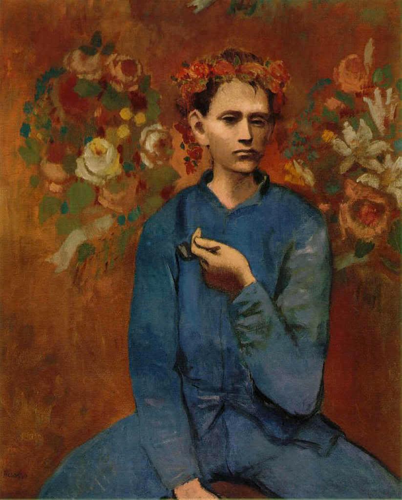 'Garçon à la pipe', Pablo Picasso 1905