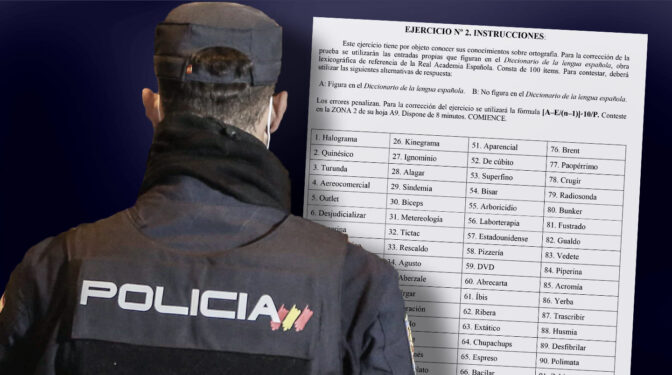 La Policía suspendió en ortografía al 75% de los opositores pese a bajar la nota a 3,5