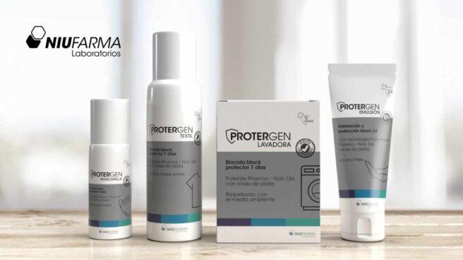 La línea de productos Protergen