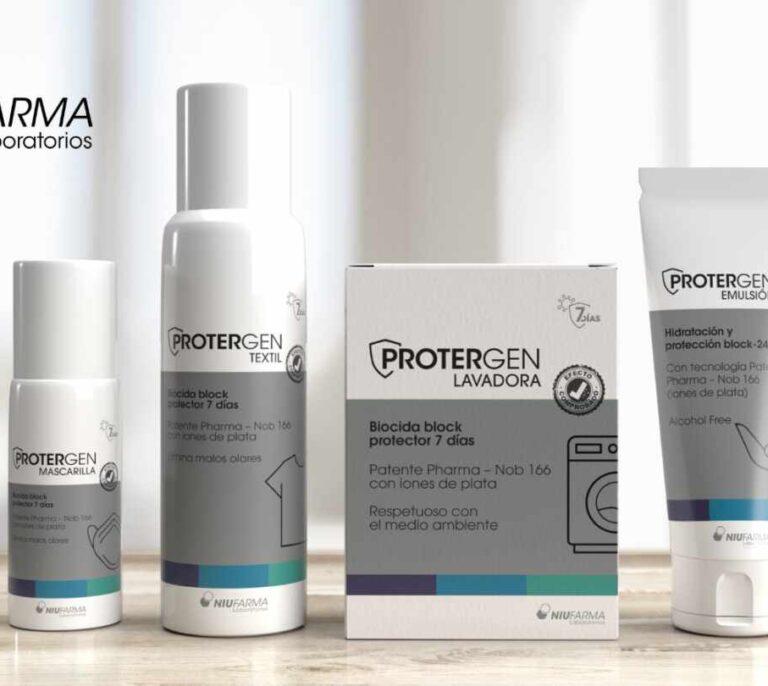 Niu Farma lanza 'Protergen', cuatro productos que protegen del Covid