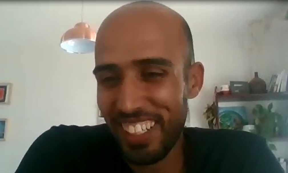 Saleh, en la conversación por Zoom con 'El Independiente'.