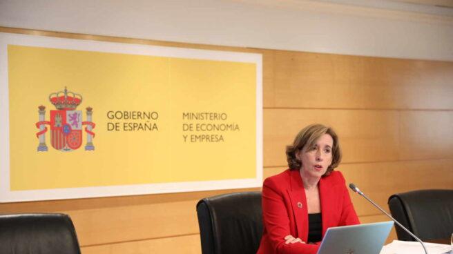 La secretaria de Estado de Economía y Apoyo a la Empresa, Ana de la Cueva