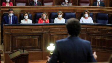 """Un Sánchez """"desaforado"""" rompe hostilidades contra Casado: """"Usan la crisis para derribar al Gobierno"""""""