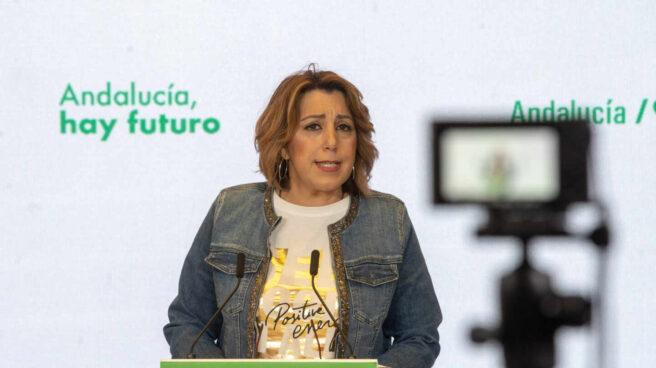 Susana Díaz anuncia que se presentará a las primarias del PSOE en Andalucía.