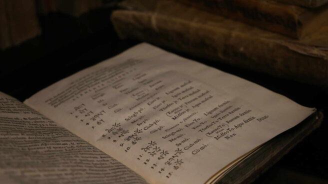 Uno de los ejemplares entregados en 1961 a la abadía del Valle de los Caídos.