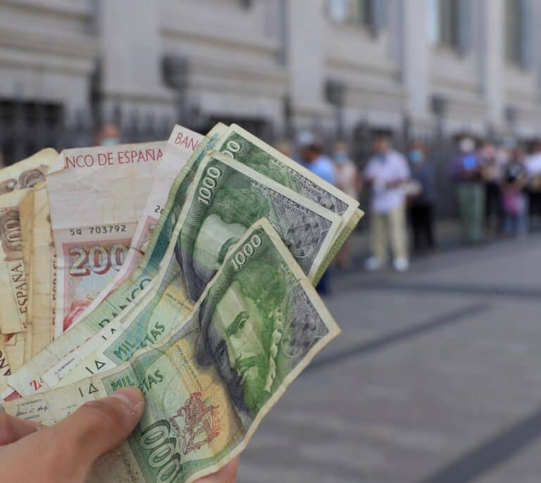 Los españoles han dejado sin cambiar pesetas por valor de 1.575 millones de euros