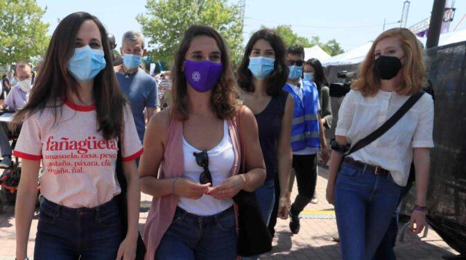El futuro de Podemos: seis mujeres para enterrar la era de Iglesias