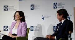 """Ayuso, ante Aznar: """"Si pretenden que me quede callada, lo llevan claro"""""""