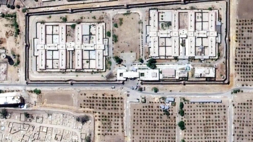 Imagen por satélite del complejo penitenciario de Tora