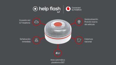 Vodafone conectará los dispositivos luminosos de emergencia en carretera con la DGT