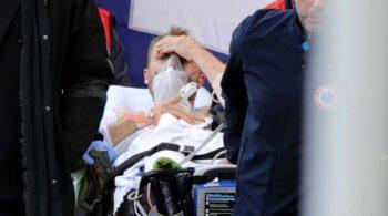 Eriksen, estable en el hospital tras caer fulminado al césped en el Dinamarca-Finlandia